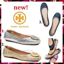 セール 定番  新色 Tory Burch Minne Travel Ballet With Logo