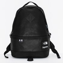 Supreme The North Face Leather Day Pack Black 黒 FW17