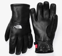 Supreme The North Face Leather Gloves S Black 黒 FW17