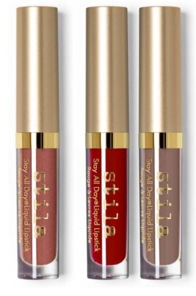 Stila☆限定セット(warm & fuzzy stay all day liquid lipstick)