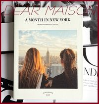 DEAR MAISON(ディアメゾン) 手帳 フリーダイアリー★A MONTH IN NEW YORK DIARY ver.6/安心追跡付