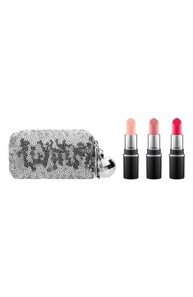 新作!MAC(マック) Snow Ball Pink Mini Lipstick Kit 送料込み