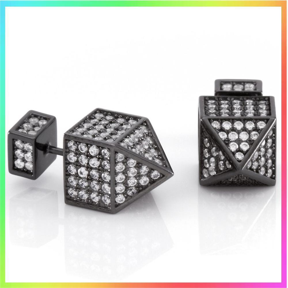 King Ice★The Blackout Dome Earrings
