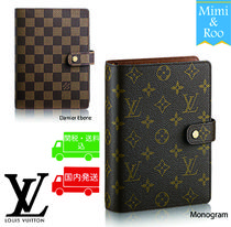 Louis Vuitton*☆ダミエ*モノグラム*COUVERTURE AGENDA MM*手帳