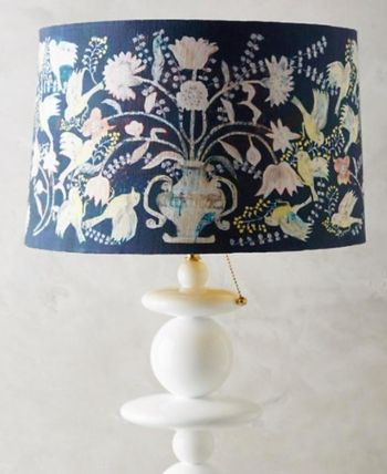 安心の国内発送★Anthropology★上品!Odelina Lamp Shade