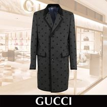 GUCCI EMBROIDERED COAT