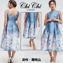 Chi Chi London Maternity 2 in 1ミデイドレスwith Border