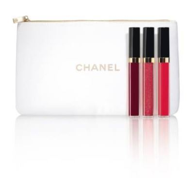 Chanel☆BRIGHT ON ROUGE COCO MOISTURIZING GLOSSIMER TRIO