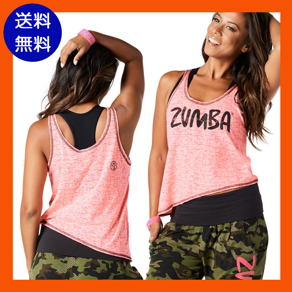 10月新作【送料無料】ZUMBA Throwback Summer Lovin' Tank