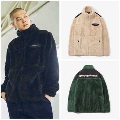GROOVE RHYMEの2017 FLUFFY YARN FLEECE FULL ZIP-UP 全3色