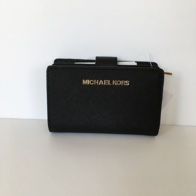 Michael Kors 折りたたみ財布 【Michael Kors】JET SET TRAVEL BIFOLD ZIP WALLET 二つ折財布(5)