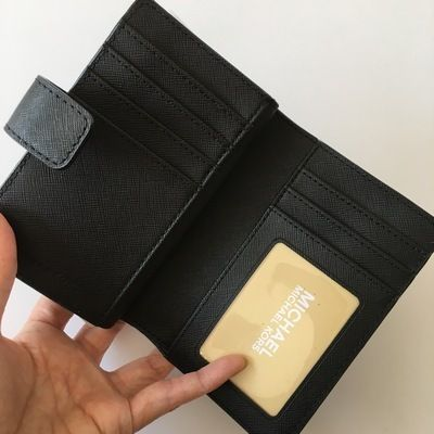 Michael Kors 折りたたみ財布 【Michael Kors】JET SET TRAVEL BIFOLD ZIP WALLET 二つ折財布(6)