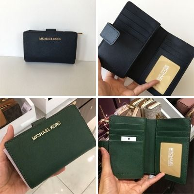 Michael Kors 折りたたみ財布 【Michael Kors】JET SET TRAVEL BIFOLD ZIP WALLET 二つ折財布(13)
