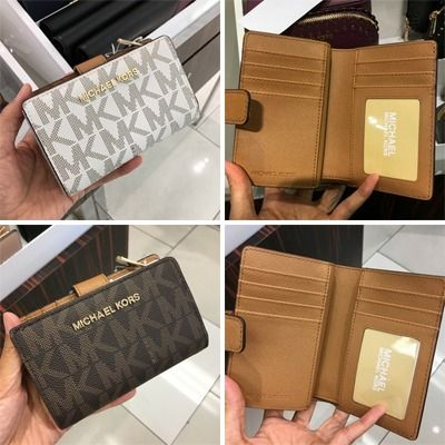 Michael Kors 折りたたみ財布 【Michael Kors】JET SET TRAVEL BIFOLD ZIP WALLET 二つ折財布(14)