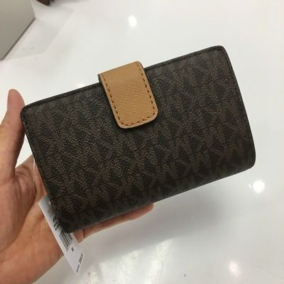 Michael Kors 折りたたみ財布 【Michael Kors】JET SET TRAVEL BIFOLD ZIP WALLET 二つ折財布(16)