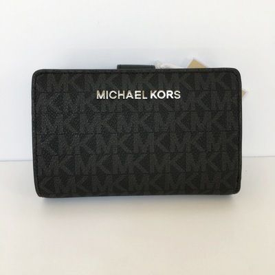 Michael Kors 折りたたみ財布 【Michael Kors】JET SET TRAVEL BIFOLD ZIP WALLET 二つ折財布(18)