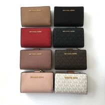 【Michael Kors】JET SET TRAVEL BIFOLD ZIP WALLET 二つ折財布