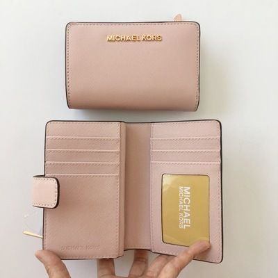 Michael Kors 折りたたみ財布 【Michael Kors】JET SET TRAVEL BIFOLD ZIP WALLET 二つ折財布(9)