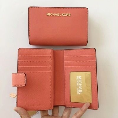 Michael Kors 折りたたみ財布 【Michael Kors】JET SET TRAVEL BIFOLD ZIP WALLET 二つ折財布(10)