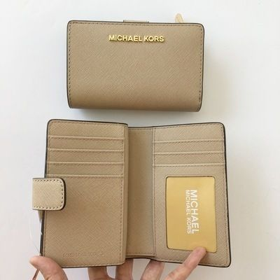 Michael Kors 折りたたみ財布 【Michael Kors】JET SET TRAVEL BIFOLD ZIP WALLET 二つ折財布(11)