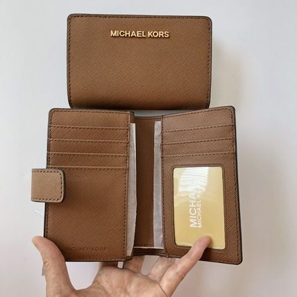 Michael Kors 折りたたみ財布 【Michael Kors】JET SET TRAVEL BIFOLD ZIP WALLET 二つ折財布(15)