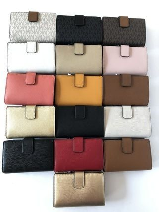 Michael Kors 折りたたみ財布 【Michael Kors】JET SET TRAVEL BIFOLD ZIP WALLET 二つ折財布(2)