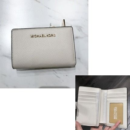 Michael Kors 折りたたみ財布 【Michael Kors】JET SET TRAVEL BIFOLD ZIP WALLET 二つ折財布(19)