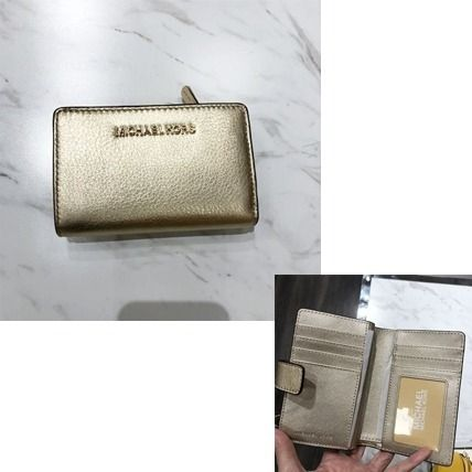Michael Kors 折りたたみ財布 【Michael Kors】JET SET TRAVEL BIFOLD ZIP WALLET 二つ折財布(20)