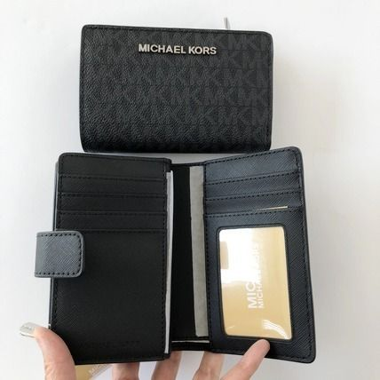 Michael Kors 折りたたみ財布 【Michael Kors】JET SET TRAVEL BIFOLD ZIP WALLET 二つ折財布(7)