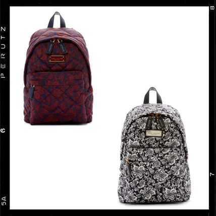 関税込【MARC JACOBS】Quilted Mini Paisley Backpack 花柄