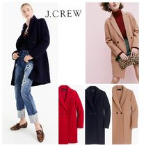 大人気!J CREW Daphne Topcoat in Boiled Wool お早めに