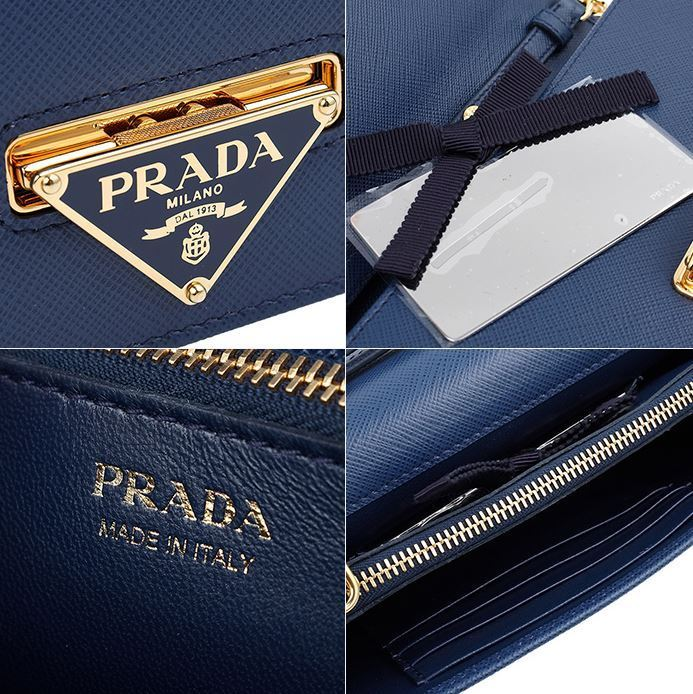 【関税負担】 PRADA SAFFIANO CHAIN SHOULDER