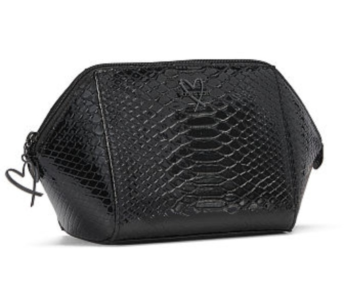 Luxe Python Glam Bag