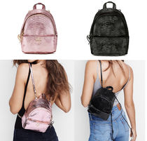 Luxe Python Mini City Backpack