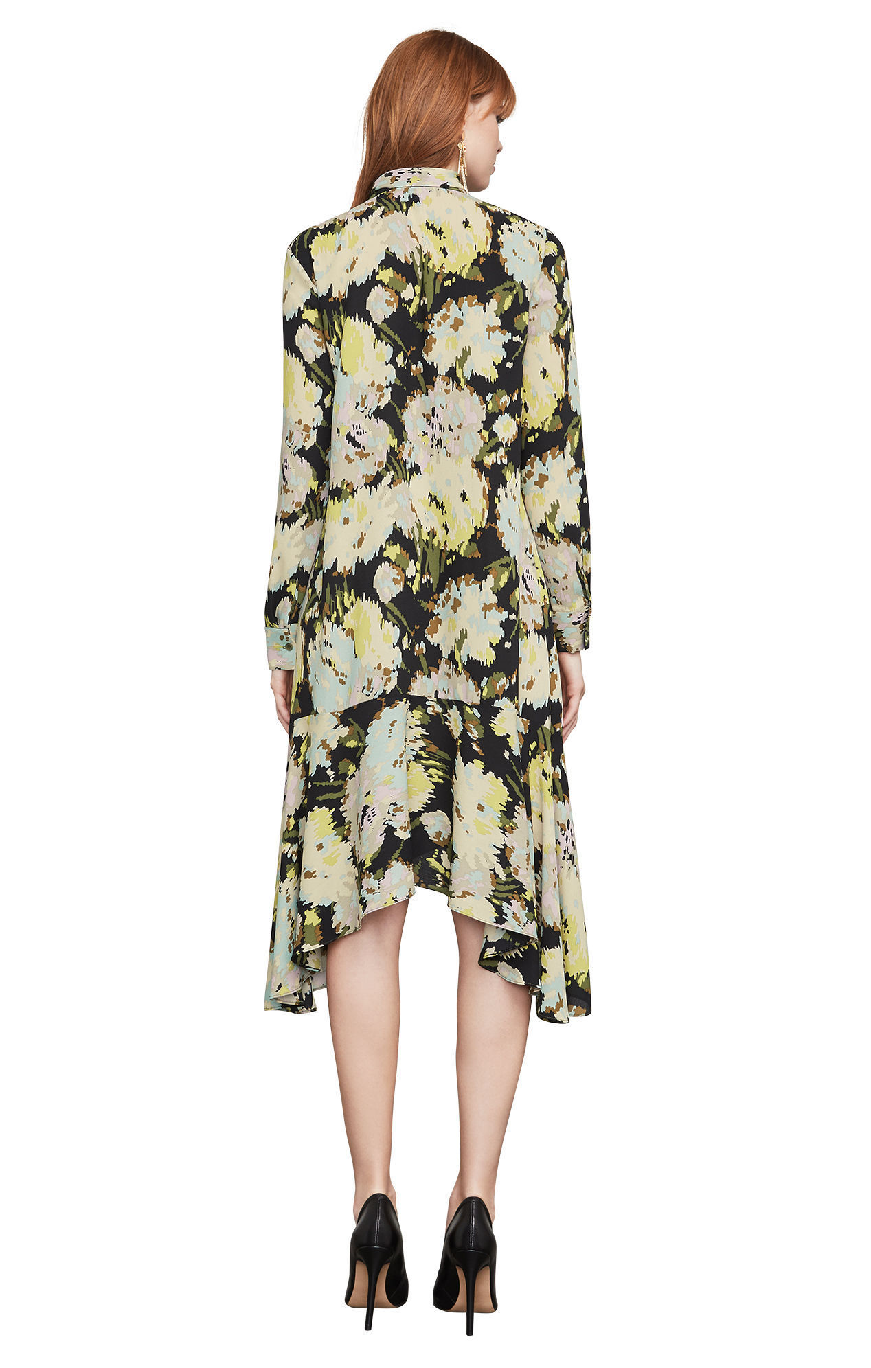 【BCBG MAXAZRIA】ドレス♪ Flora Watercolor Mums Dress