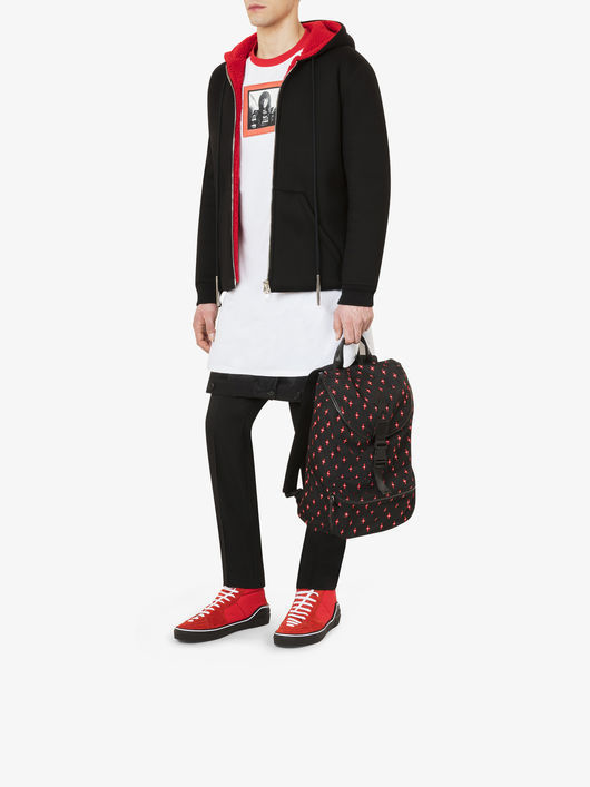 【18SS NEW】 GIVENCHY_men /SHEARLING EFFECTパーカー