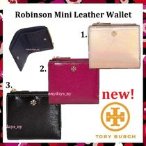 セール 新作 Tory Burch Robinson Mini Leather Wallet ミニ財布