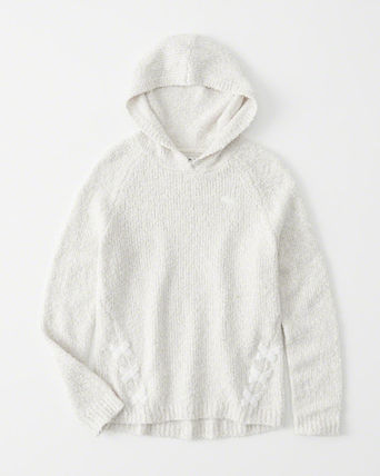 Abercrombie & Fitch キッズ用トップス 大人もOK☆アバクロキッズ ベルベットパーカー(6)