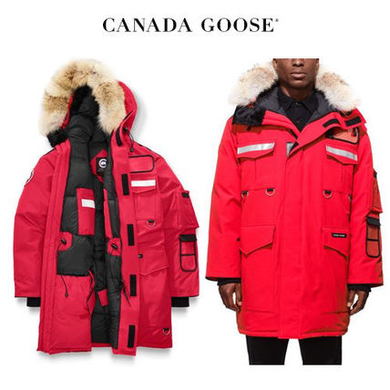CANADA GOOSE Resolute Parka 本格派のエネルギッシュなレッド
