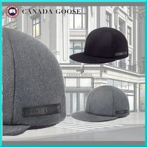 希少!!CANADA GOOSE(カナダグース) CG Wool Cap Black Label