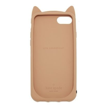 kate spade new york スマホケース・テックアクセサリー 大人気商品★Kate spade Silicone Cheetahcat iphone7Case★(2)