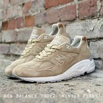 New Balance 990v2 Winter Peaks MADE IN USA 人気のタンカラー