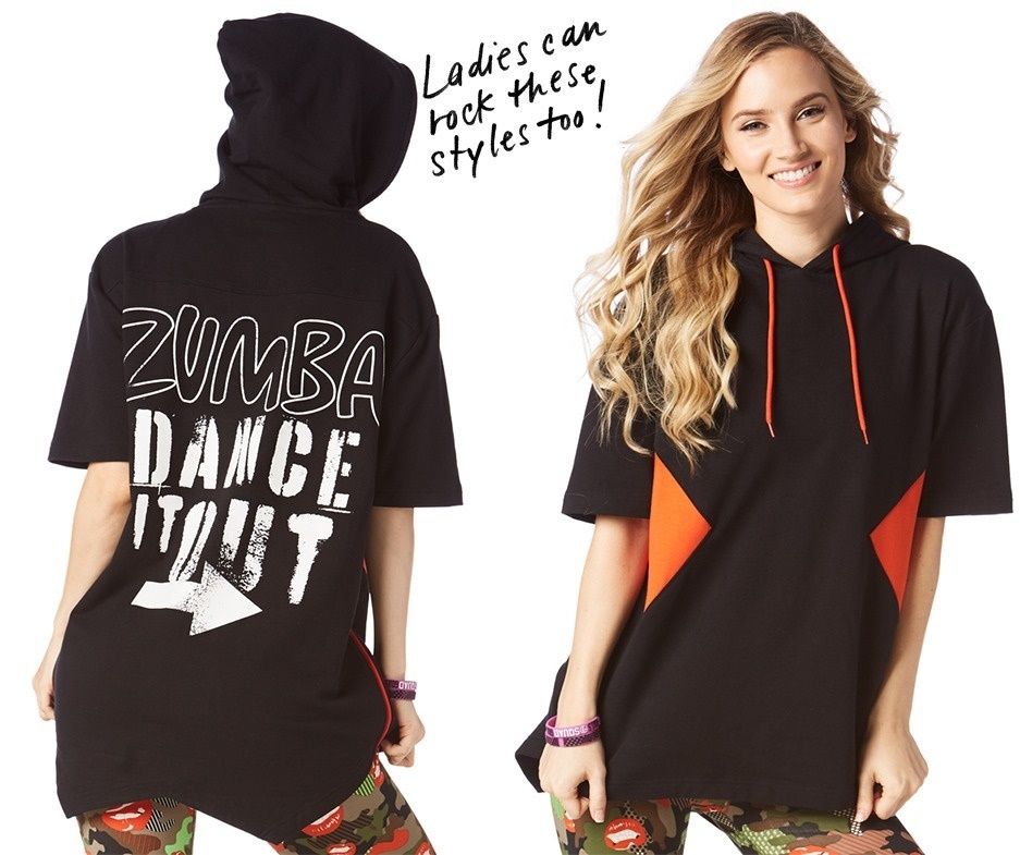 ZUMBA★Dance It Out Hooded Pulloverフードプルオーバー
