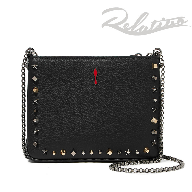 18AW★新作【Christian Louboutin】Triloubi small studded bag