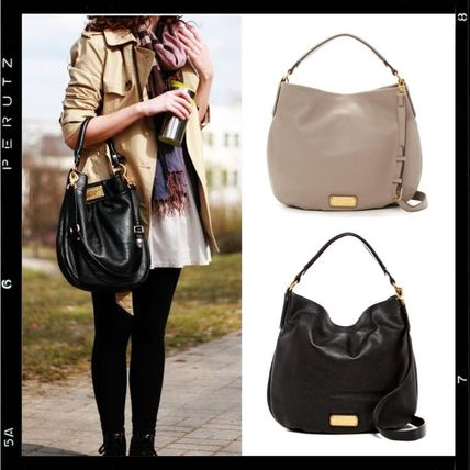 【MARC JACOBS】Hillier Leather Hobo 2way ショルダートート