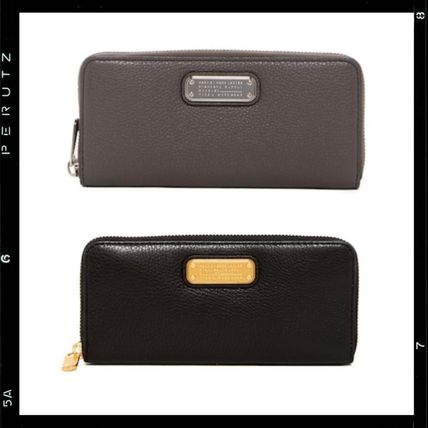 【MARC JACOBS】New Q Slim Zip Continental Leather Wallet