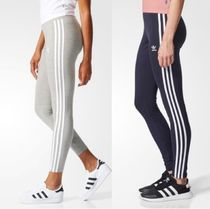 ADIDAS ORIGINALS 3STRIPES LEGGINGS レギンス グレー ネイビー