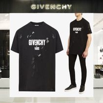 【18SS NEW】 GIVENCHY_men /STARS AND 74 DETAILSTシャツBK