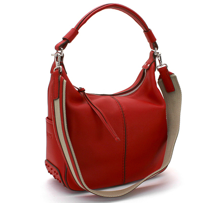 TOD'S     Miky Small   ショルダーバッグ    RED   国内発送