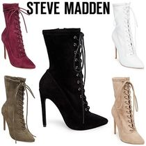 ★STEVE MADDEN★レースアップ ブーティ SATISFIED★
